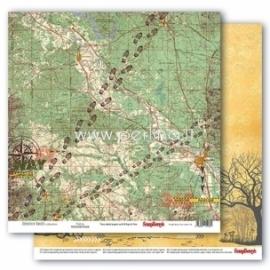 "Popierius ""Trekking - Adventure Awaits collection"", 30,5x30,5 cm"