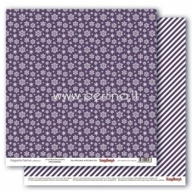 "Popierius ""Snowflakes Beautyberry - Elegantly Festive collection"", 30,5x30,5 cm"