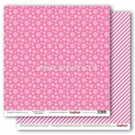 "Popierius ""Snowflakes Pink Crush - Elegantly Festive collection"", 30,5x30,5 cm"