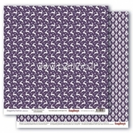 """Paper """"Reindeer Beautyberry - Elegantly Festive collection"""", 30,5x30,5 cm"""