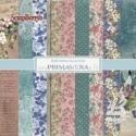 """Popieriaus rinkinys """"Primavera"""", 15x15 cm, 12 vnt."""