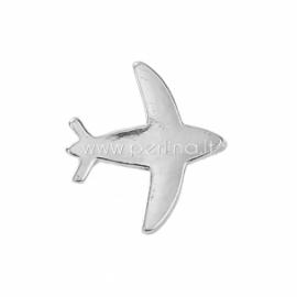 """Paskirstytojas """"Lėktuvas"""", 2 eilių, sidabro sp., 16x15 mm, 1 vnt."""