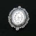 Laikrodis, ovalus, ant. sidabro sp., 33x26 mm