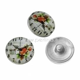 """NOOSA spaudė """"Laikrodis"""", stiklinė, 18 mm"""