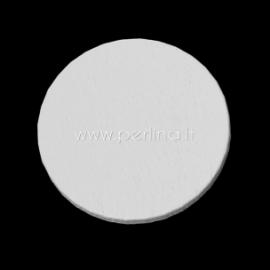 Medinis apskritimas, baltos sp., 26 mm, 1 vnt.
