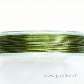 Troselis, šviesiai žalias, 0,38 mm, 1 m