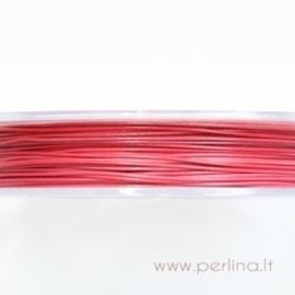 Troselis, šviesiai rožinė, 0,38 mm, 1 m