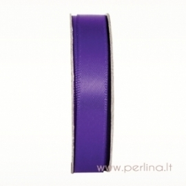 "Satino juostelė ""Deep Purple"", 10 mm, 3 m"
