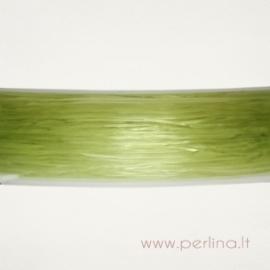 Silikoninis siūlas, salotinis, 0,8 mm, 1 m