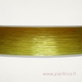 Silikoninis siūlas, geltonas, 0,8 mm, 1 m