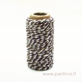 "Bakers Twine ""Spots & Stripes Jewels - Moss/Purple"", 1 PC"