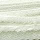 Nėrinių juostelė, pieno balta, 10-15 mm, 1 m