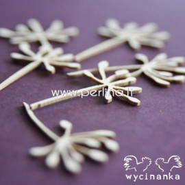 """Chipboard """"Flowers and herbs 11"""", 6 pcs"""