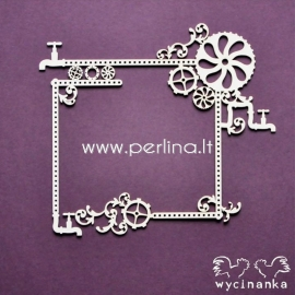 "Chipboard ""Around the steampunk - frame 2"", 1 pc"