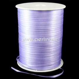 Satin ribbon, light purple, 3 mm, 1 m