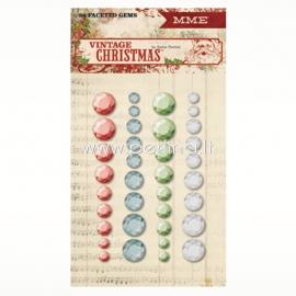 "Lipnūs kristalai ""Vintage Christmas"", 36 vnt."