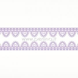 """Lipni popierinė juostelė """"Lavender Lace"""", 8 m"""