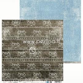 """Popierius """"Brr... it's cold outside 02"""", 30,5x30,5 cm"""