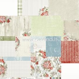 "Popierius ""Winter Moment 06"", 30,5x30,5 cm"
