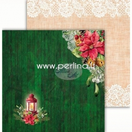 "Popierius ""Festive Bells 01"", 30,5x30,5 cm"