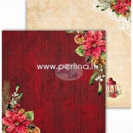 "Popierius ""Festive Bells 02"", 30,5x30,5 cm"