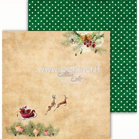 "Popierius ""Festive Bells 04"", 30,5x30,5 cm"