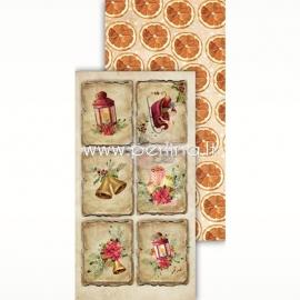 "Paper ""Festive Bells 07"", 30,5x15 cm"