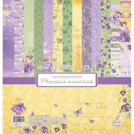 """Popieriaus rinkinys """"Precious Memories"""", 30,5x30,5 cm, 8 vnt."""