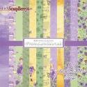 """Popieriaus rinkinys """"Precious Memories"""", 15x15 cm, 12 vnt."""