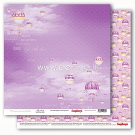 """Popierius """"Precious Memories - Fly Away"""", 30,5x30,5 cm"""