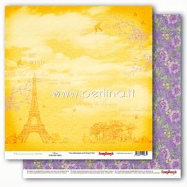 """Popierius """"Precious Memories - Paris"""", 30,5x30,5 cm"""