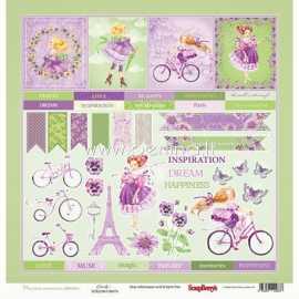 """Paper """"Precious Memories - Cards 1"""", 30,5x30,5 cm"""