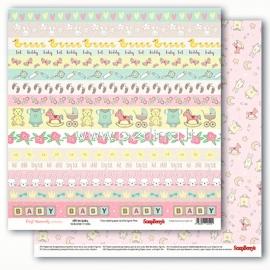 "Paper ""Precious Memories - Little One Bordery"", 30,5x30,5 cm"