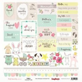 """Paper """"Precious Memories - Cards 2"""", 30,5x30,5 cm"""