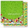 "Popierius ""Football Star - Combination Play"", 30,5x30,5 cm"