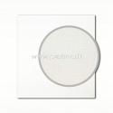 "Tekstūrinis kartonas ""Canvas, White"", 30,5x30,5 cm, 280 gsm"