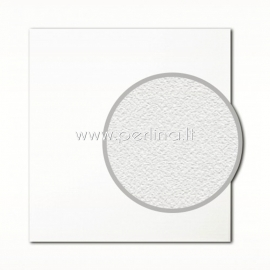 "Tekstūrinis kartonas ""Eggshell, White"", 30,5x30,5 cm, 280 gsm"