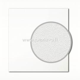 "Texture cardstock ""Eggshell, White"", 30,5x30,5 cm, 280 gsm"