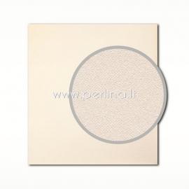 "Tekstūrinis kartonas ""Eggshell, Cream"", 30,5x30,5 cm, 280 gsm"