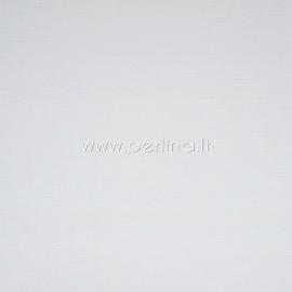 """Tekstūrinis kartonas """"White"""", 30,5x30,5 cm, 230 gsm"""
