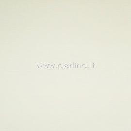 """Tekstūrinis kartonas """"Cream"""", 30,5x30,5 cm, 230 gsm"""
