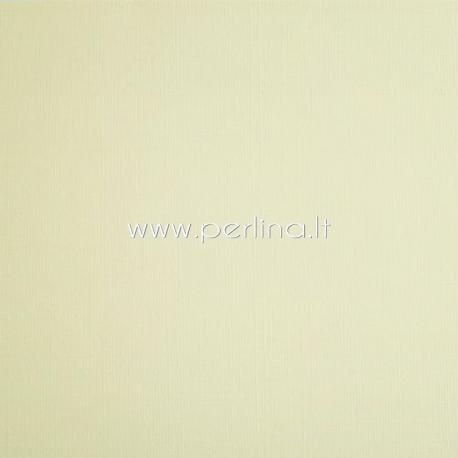 "Tekstūrinis kartonas ""Vanilla"", 30,5x30,5 cm, 230 gsm"
