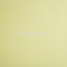 """Tekstūrinis kartonas """"Lemon Yellow"""", 30,5x30,5 cm, 230 gsm"""