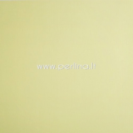 "Texture cardstock ""Lemon Yellow"", 30,5x30,5 cm, 230 gsm"