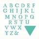 "Kirtimo formelė ""Alphabet Bunting Dies"", 28 vnt."