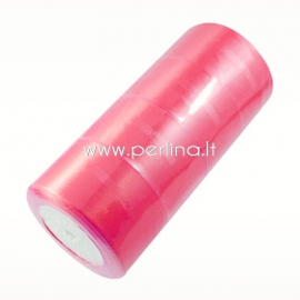 Satino juostelė, ryški rožinė, 50 mm, 1 m