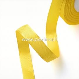 Satino juostelė, geltona, 20 mm, 1 m