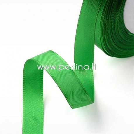 Satino juostelė, žalia, 20 mm, 1 m
