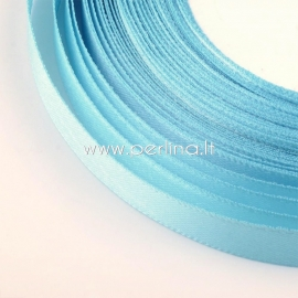 Satin ribbon, light blue, 20 mm, 1 m