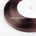 Satino juostelė, ruda, 20 mm, 1 m